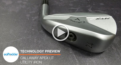 Callaway Apex UT Utility Iron Preview