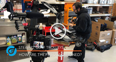 How Do Stewart Golf Refurbish Trolleys?