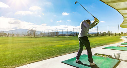 What is the best way to practise golf?