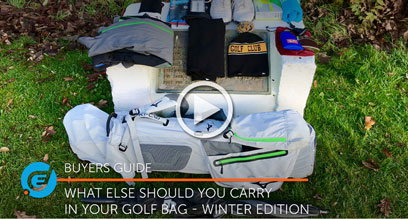 WINTER EDITION - What else should you carry in your golf bag?