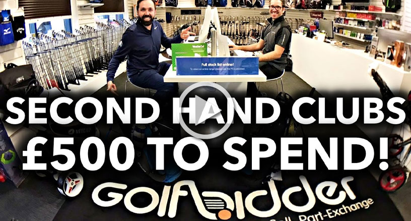 The 2017 Golfbidder £500 Challenge with Rick Shiels and Peter Finch
