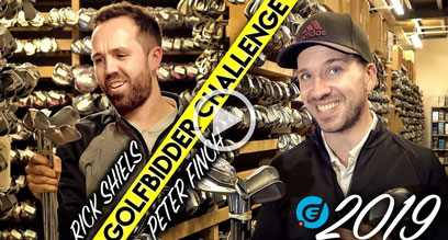 The 2019 Golfbidder £500 Challenge with Rick Shiels and Peter Finch