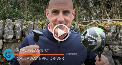 How to adjust your Callaway Epic driver