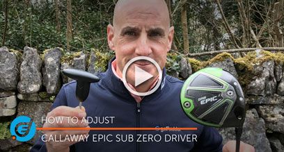 How to adjust your Callaway Epic Sub Zero driver