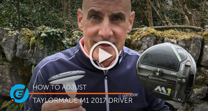 How to adjust your TaylorMade M1 2017 driver
