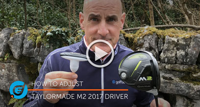 How to adjust your TaylorMade M2 2017 driver