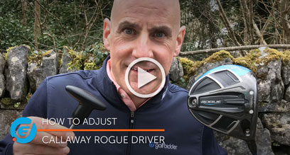 How to adjust your Callaway Rogue driver