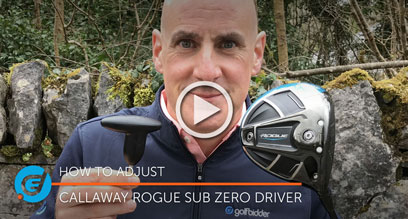 How to adjust your Callaway Rogue Sub Zero driver