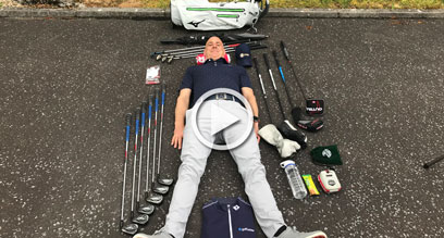 How to organise your golf bag?
