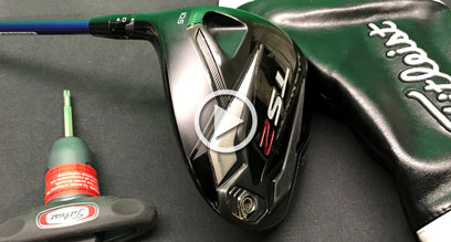 How to adjust your Left Handed Titleist TS driver