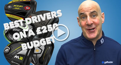 The best drivers for under £250 - February 2021