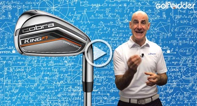 Cobra KING F7 Irons Preview